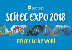 Cawthron Scitec Expo 2018 Logo