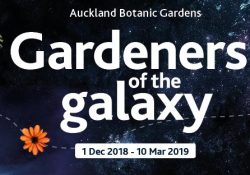 Gardeners of the Galaxy at Auckland Botanical Gardens