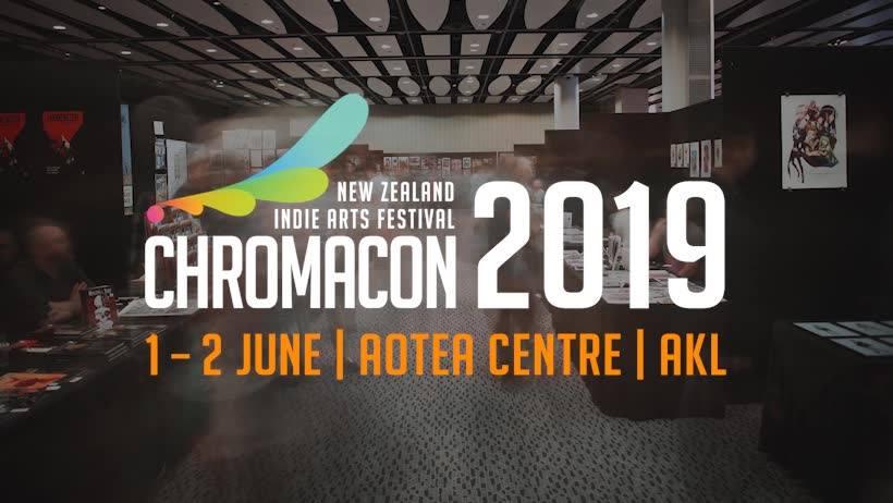Chromacon 2019 logo